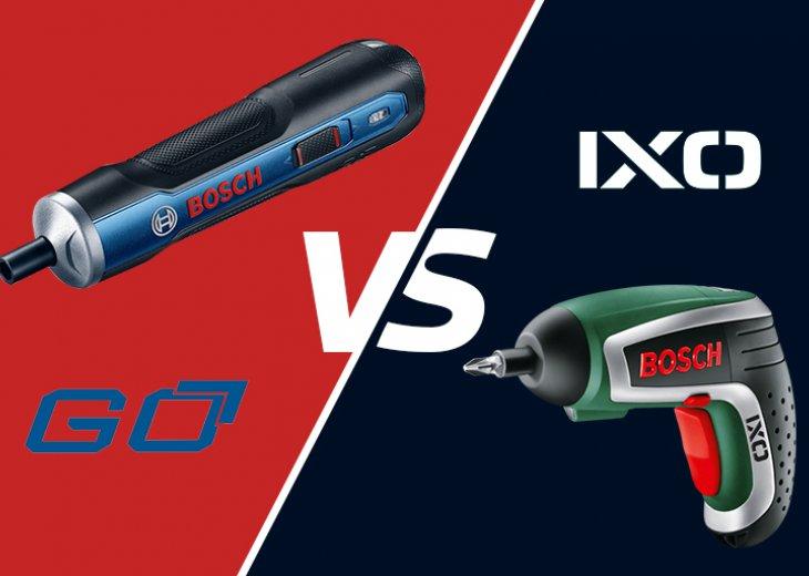Bosch GO vs Bosch IXO